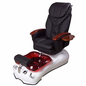 ANGA'S pedicure spa chair (in Black)