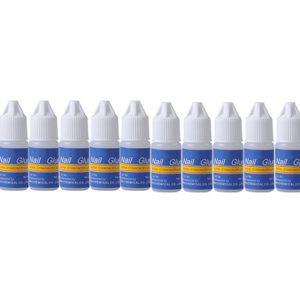Braceus 3g Adhesive Nail Glue - 10pcs