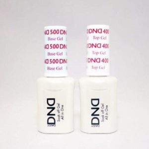 DND Daisy Duo All In One Soak Off Base Gel and Top Coat Set