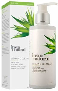 Insta Natural-Vitamin C Facial Cleanser - Best Natural Cleansers