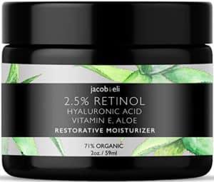 Jacob & Eli - Restorative Moisturizer - Rich Retinol Cream