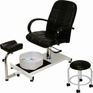 Best Pedicure Chairs - LCL beauty with hydraulic lift adjustable pedicure unit