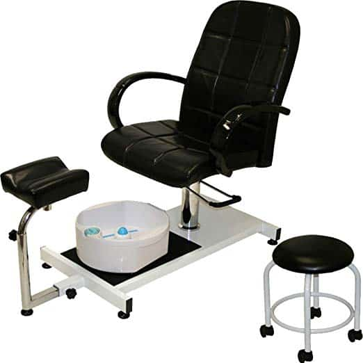 LCL beauty with hydraulic lift adjustable pedicure unit