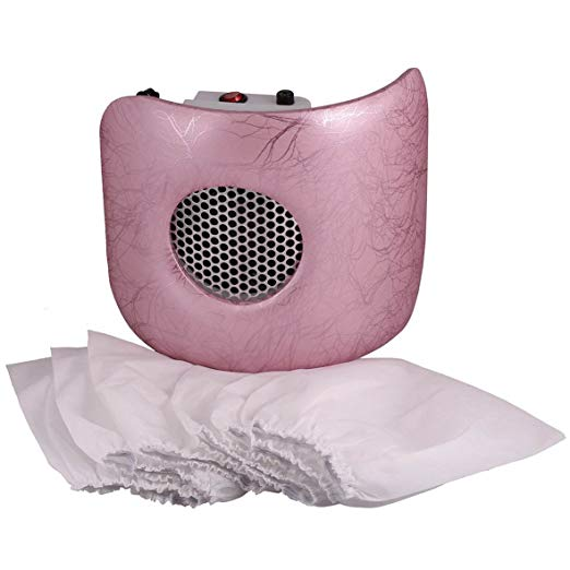 Miss Sweet Nail Dust Collector Vacuum (Pink)