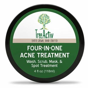 best sulfur face wash - TreeActiv Four-in-One Acne Treatment