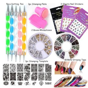 LoveOurHome Nail Art Stamping Templates
