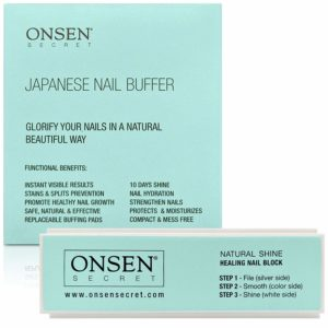 best nail buffers - Onsen Nail Buffer Block