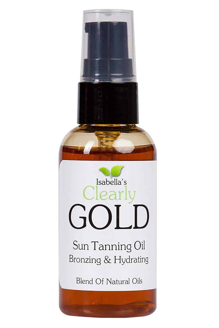 Isabella's Natural Bronzing Tanning Oil