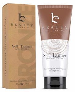best tan accelerator Self Tanner from Beauty by Earth