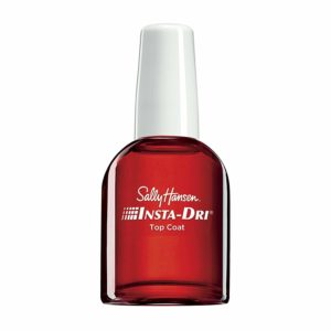 how to apply nail polish - top coat nail polish
