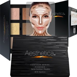 Aesthethica Cosmetics Contour and Highlighting Powder Palette