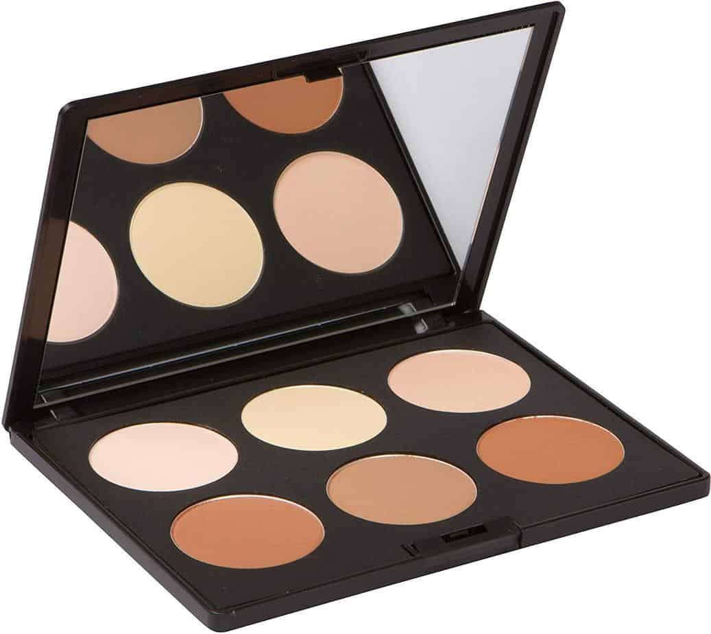 Contour Kit and highlighting powder palette by Elizabeth Mott