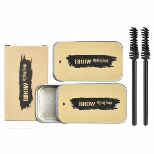 Ownest 2 Pcs Eyebrow Soap Kit