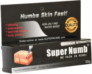 30g Super Numb Anesthetic Skin Numbing Cream