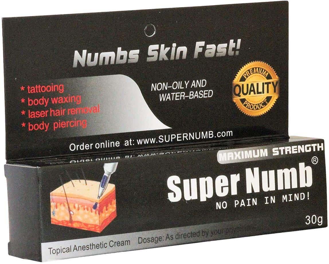 30g Super Numb Anesthetic Skin Numbing Cream