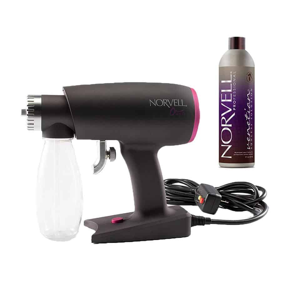 Oasis Spray Tan Machine with Norvell Venetian Spray Tanning Solution