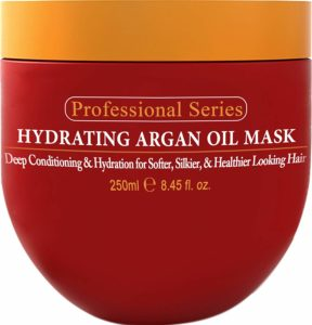 Hydrating Argan Oil Hair Mask - Best Moisturizer for Low Porosity Hair