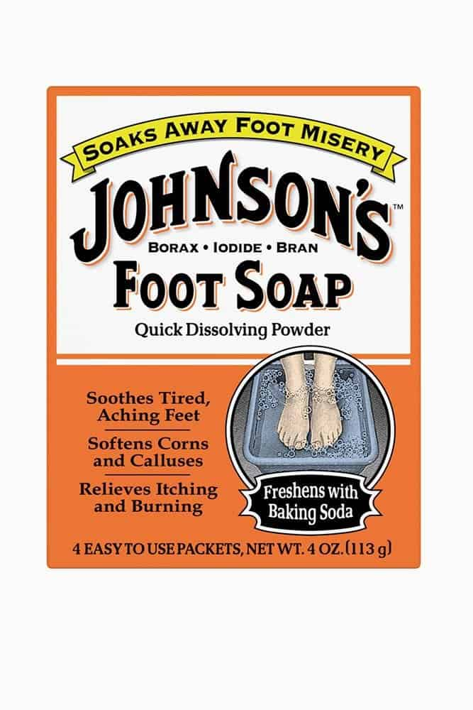 Johnson's Foot Soap Dissolving Powder