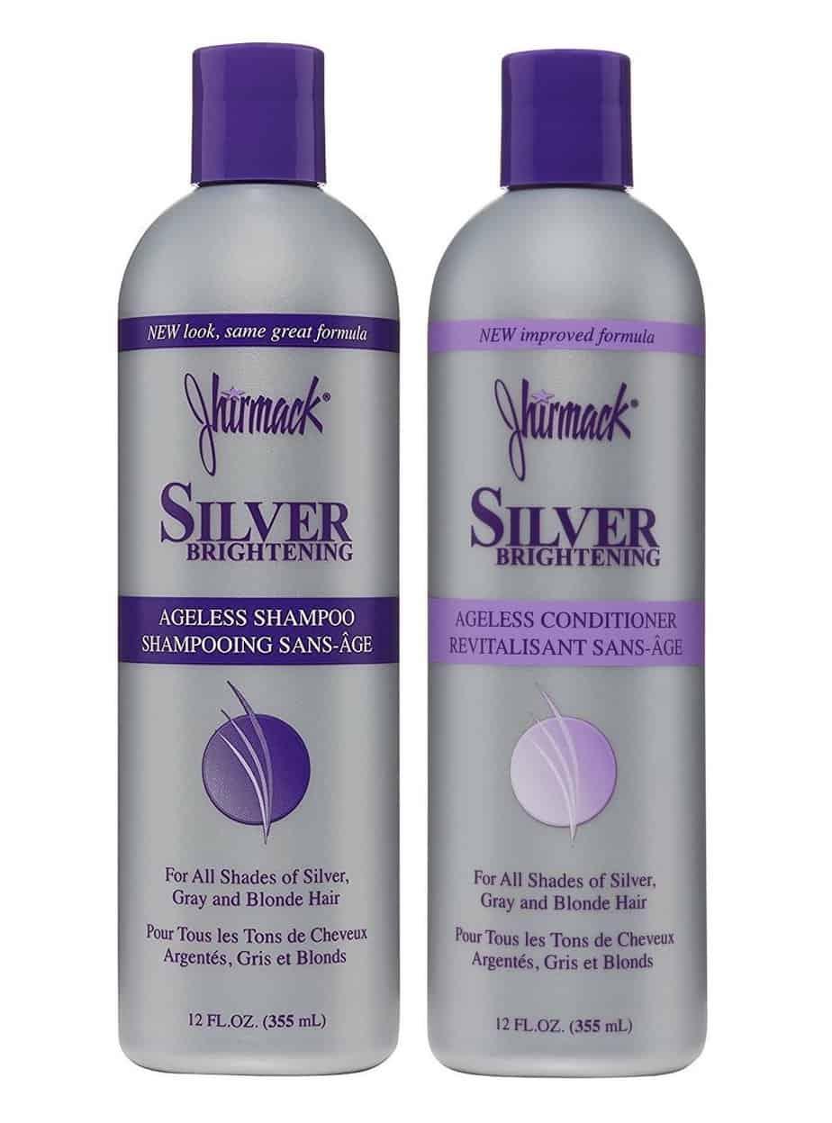 Jhirmack Silver Brightening Ageless Purple Shampoo