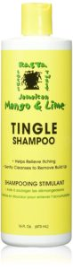 Mango and lime tingle shampoo