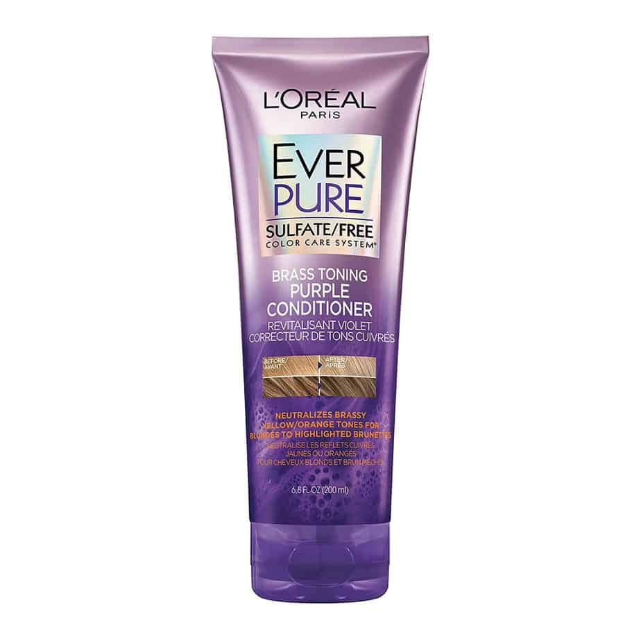 L'oreal Paris Purple Conditioner For Bleached Hair