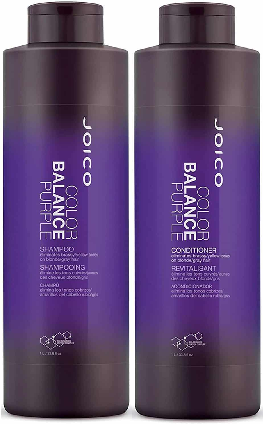 JoicoColor Balance Purple Shampoo and Conditioner Set
