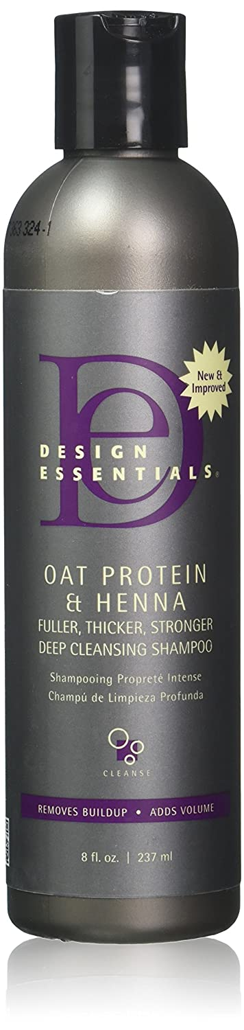 Design essentials henna and oat protein deep cleansing shampoo
