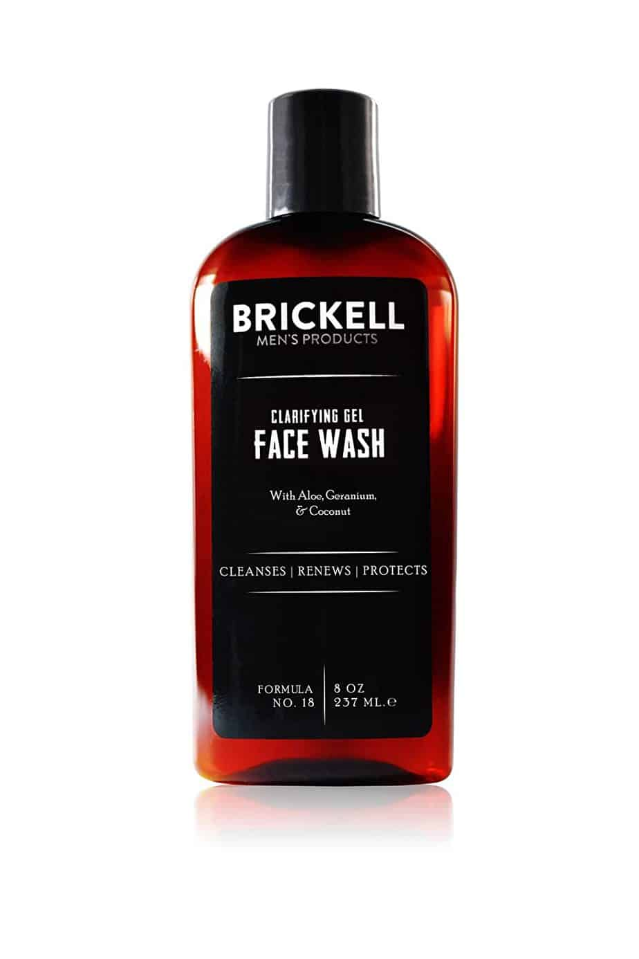 Brickell Men's Clarifying Gel Face Wash