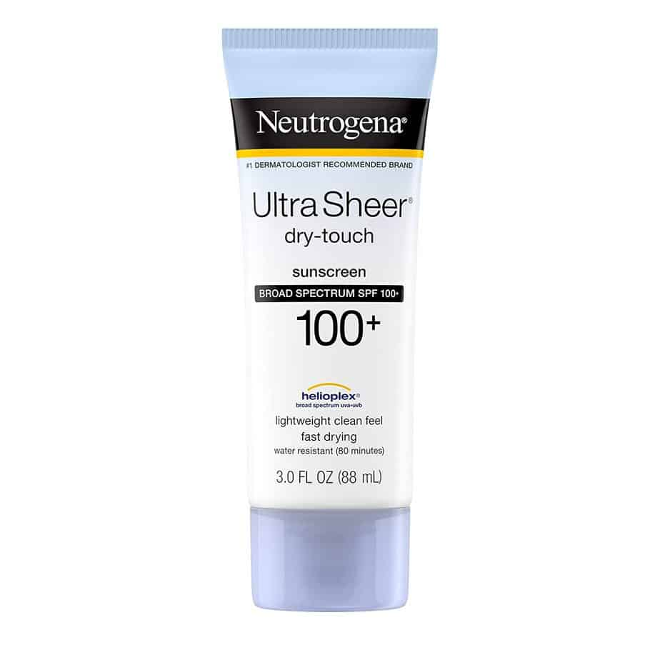 Neutrogena Ultra-sheer Dry-touch Sunscreen lotion