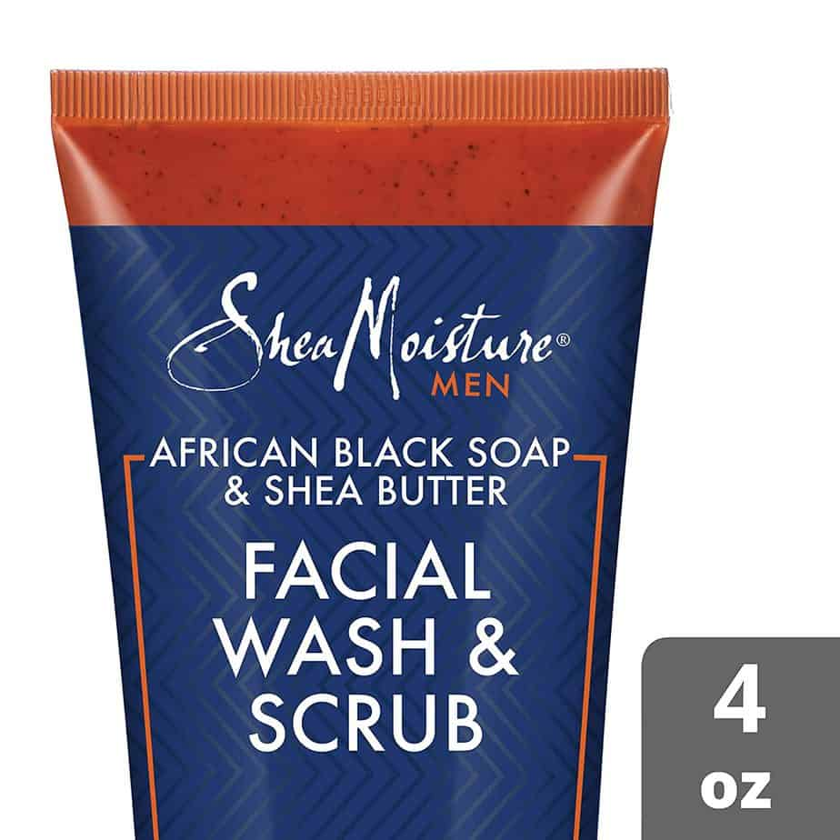 Shea Moisture Face Wash and Face Scrub for Men