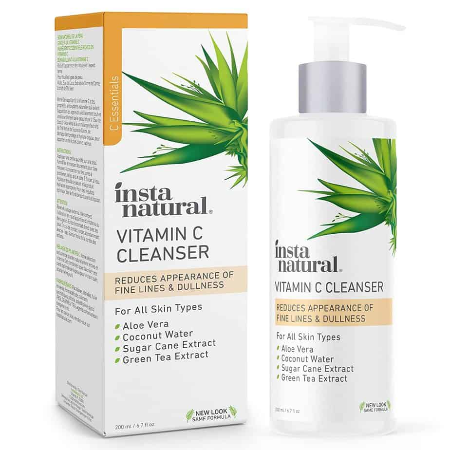 InstaNatural Store Vitamin C Face Cleanser for African American Skin