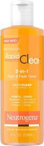 Neutrogena Rapid clear acne toner