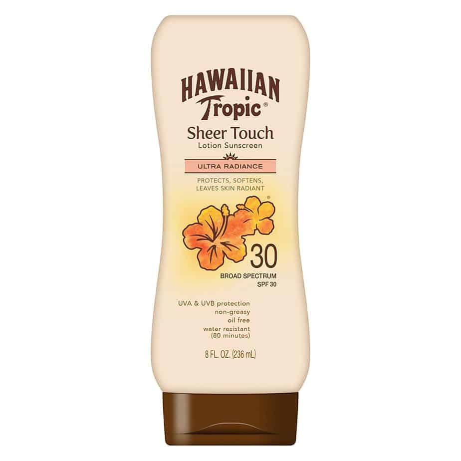 Hawaiian Tropic sheer Touch Lotion Sunscreen