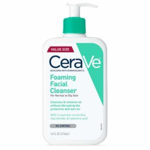 CeraVe Foaming face wash