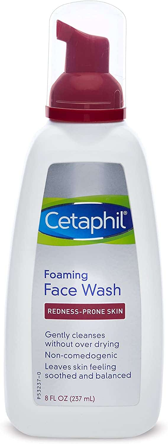 Cetaphil redness control daily foaming face wash