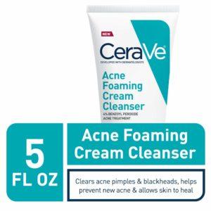 CeraVe Acne Foaming Cream