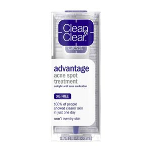 Clean and clear advantage acne spot treatment for men