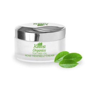 Keeva Organics Acne Treatment Cream - TEA TREE OIL