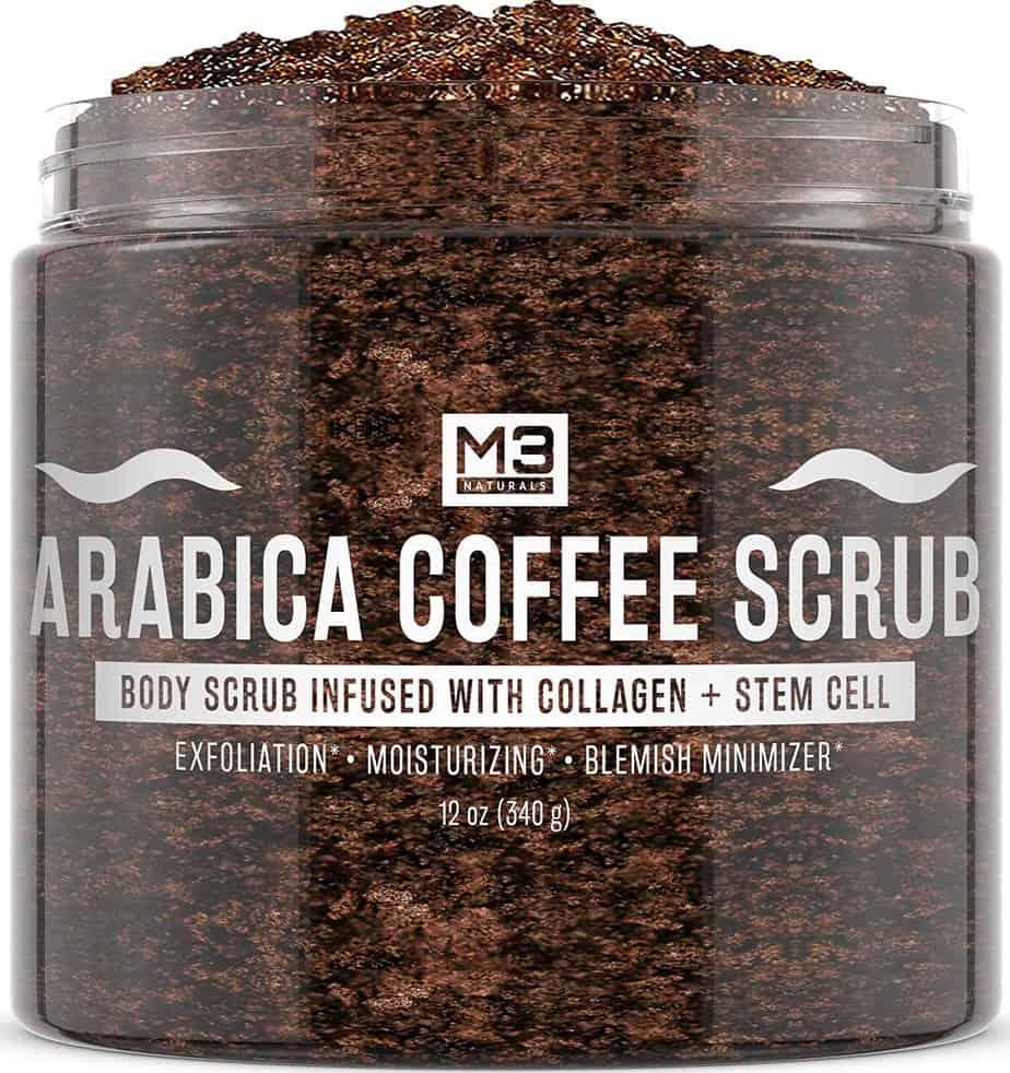 M3 Naturals Arabica Coffee Scrub
