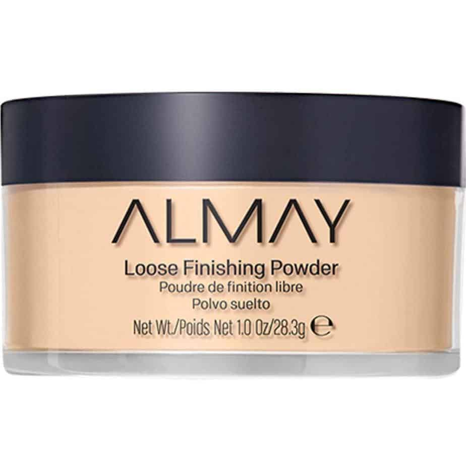 Almay loose finishing powder