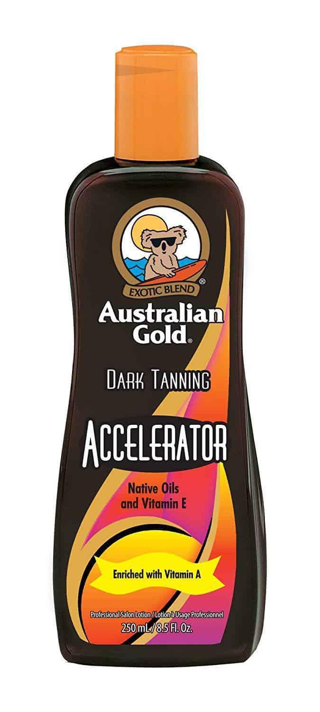 Australian Tanning Accelerator Lotion - Gold Dark