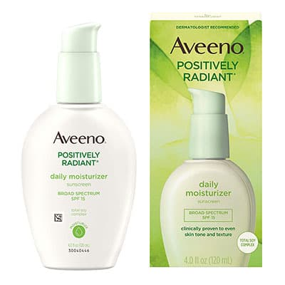 Aveeno Facial Moisturizer with SPF 15 - Best Moisturizer for Black Skin