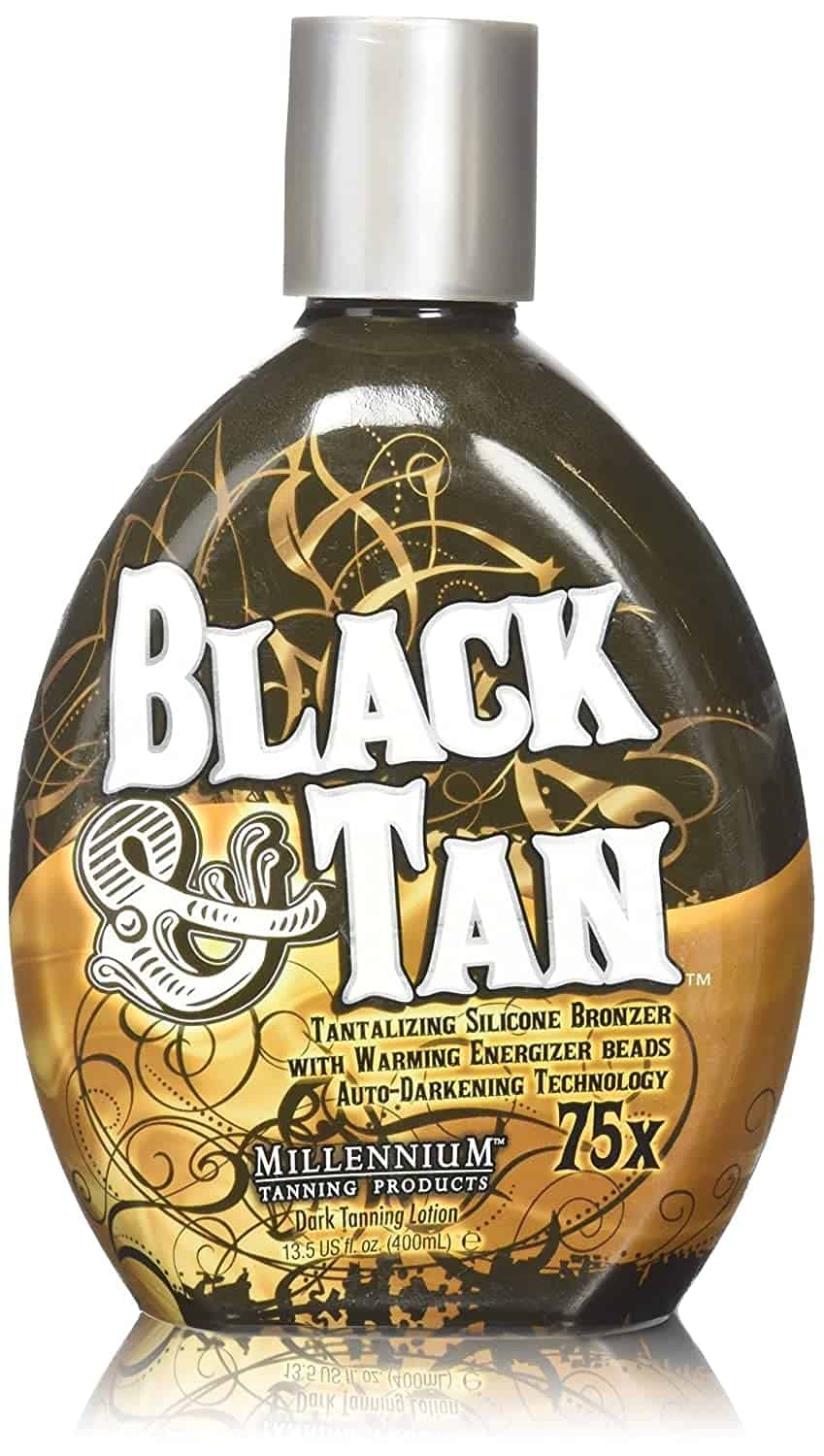 Black & Tan 75x Indoor Tanning Bed Bronzer