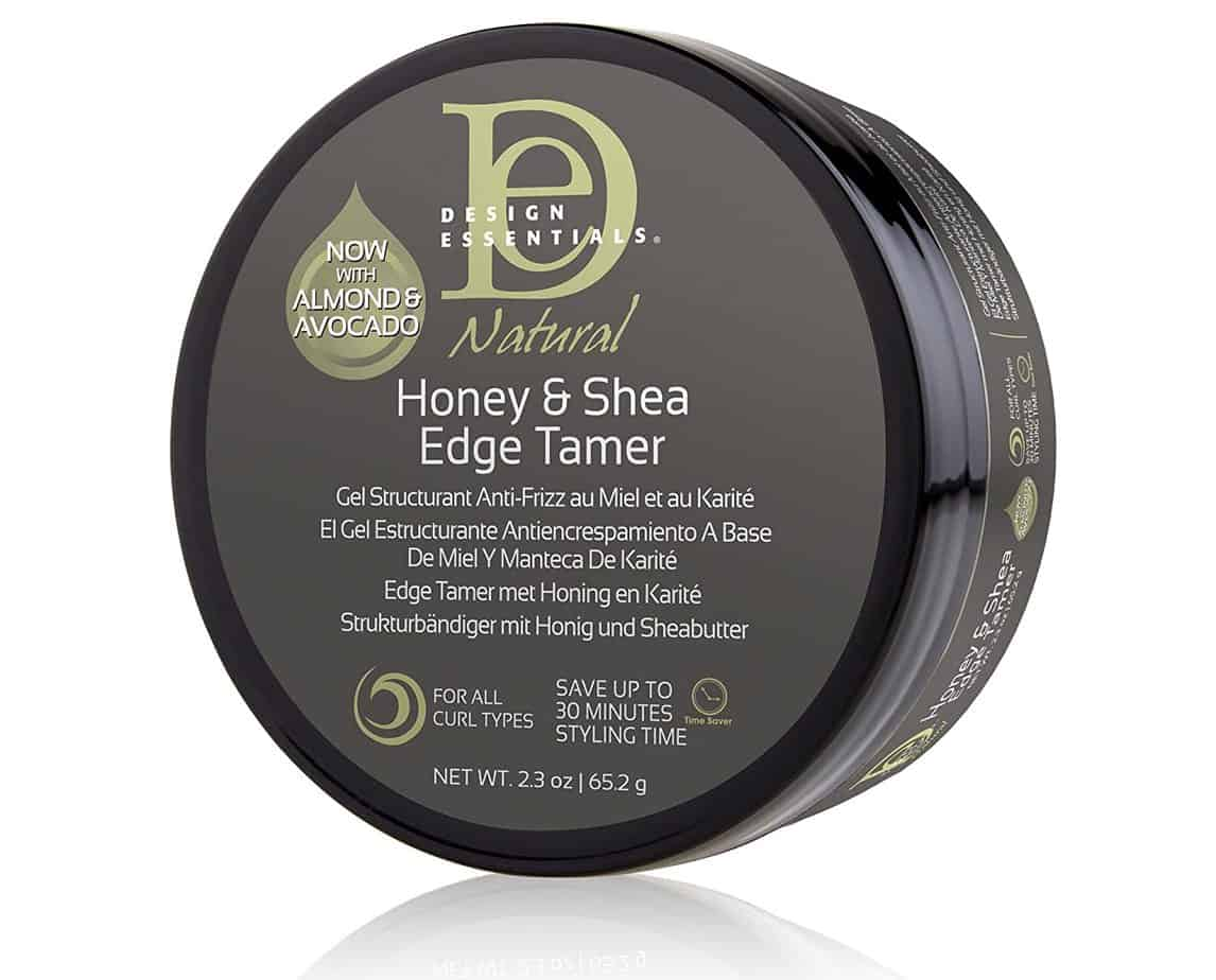 Design Essentials Natural Honey and Shea Edge Tamer Hair Gel