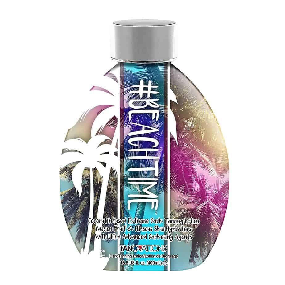 Ed Hardy Beachtime Dark Indoor-Outdoor Coconut Infused Tanning Lotion