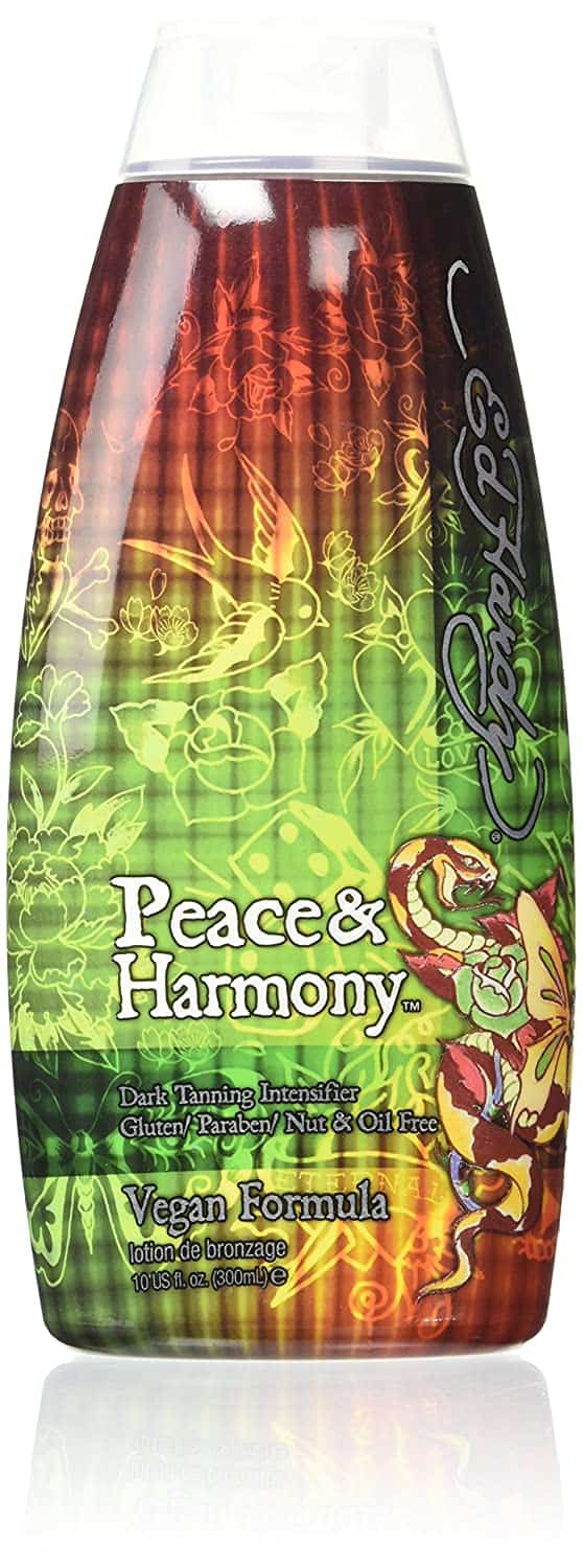 Ed Hardy Peace and Harmony Tanning Lotion