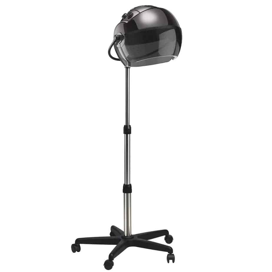 Gold N Hot Professional 1875W Ionic Stand Hooded Hair Dryer