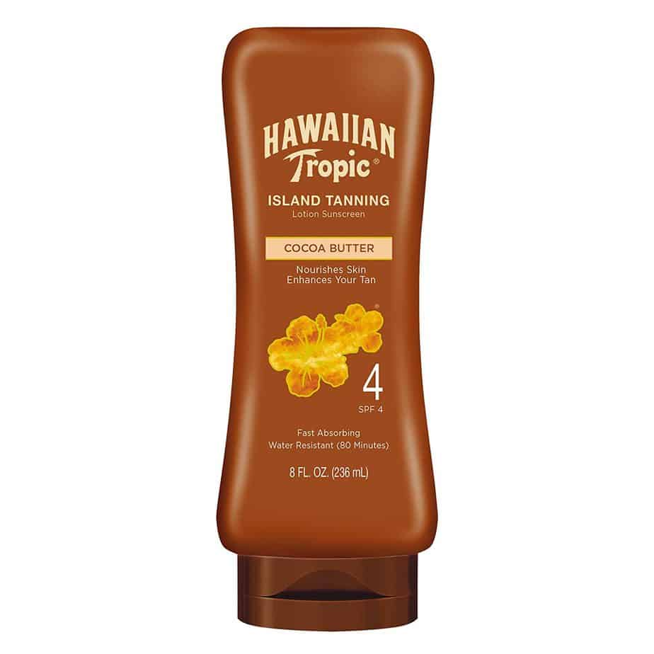 Hawaiian Tropic Sunscreen Protective Dark Tanning