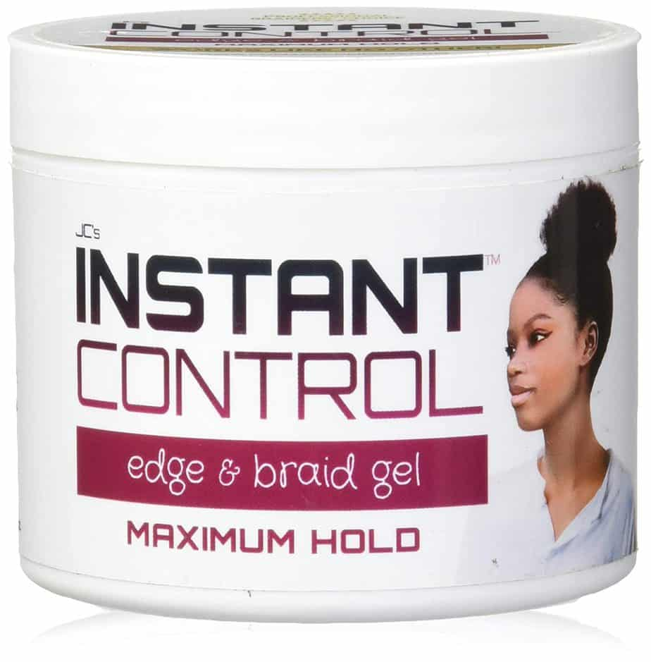 JC's Instant Control Edge and Braid Gel Max
