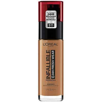 L'Oreal Paris makeup Infallible up to 24 hours of fresh wear foundation